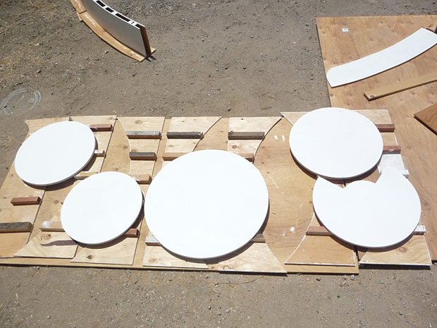 Photo of various White Primed Wheels